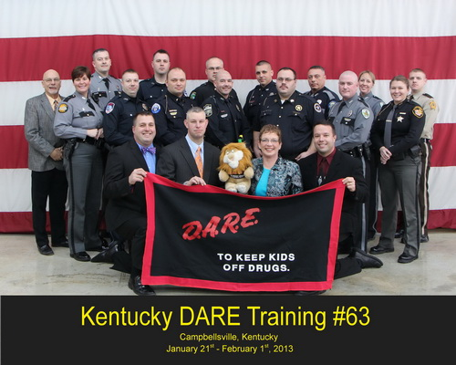 DARE Officer Training # 63