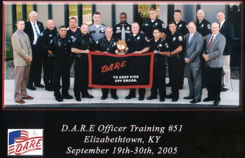DARE Officer Training # 51